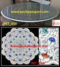 White Marble Pichkari Flooring
