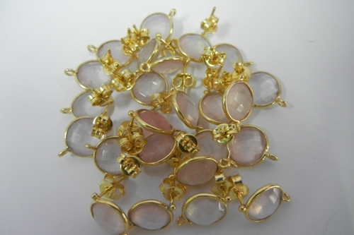Rose Quartz Connectors