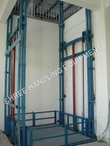 Double Side Frame Goods Lift