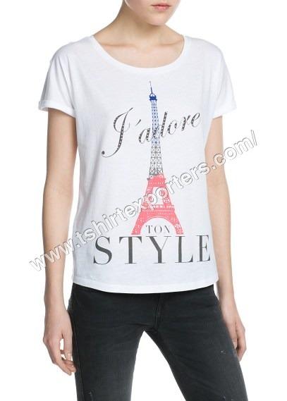 Ladies Fancy T shirt
