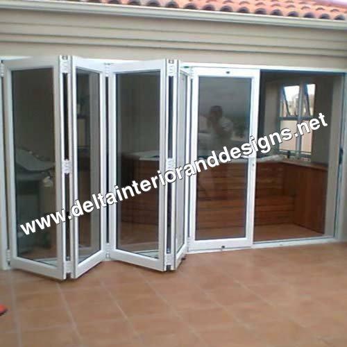 Folded Aluminium Doors
