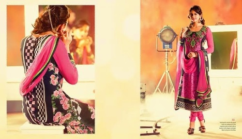 Printed Embroidered Suits