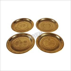 Traditional Printed Brass Plates