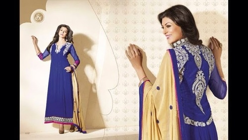 Georgette Embroidered Suits