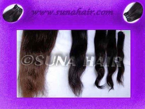 100% Body wavy cuticle intact human hair unprocessed virgin human hair weft
