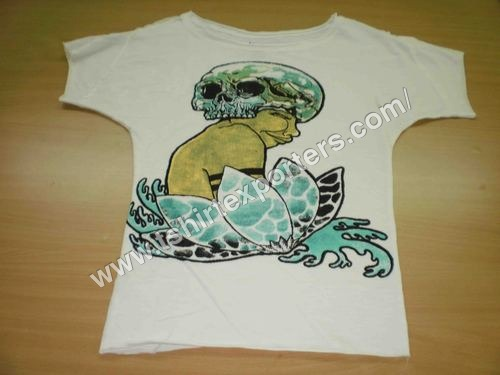 Ladies Waterbase Print Tshirt