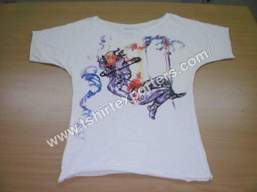 Ladies Waterbase Printed T shirt