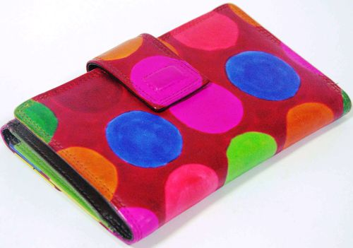 Printed Leather Ladies Wallets