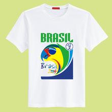 100 % Cotton Men Football World Cup Tshirt
