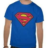2014 Men Superman printed Tshirt