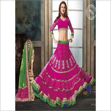 Beautiful Net Lehenga