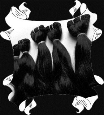 Malaysian attractive full black color no processed tangle free human hair