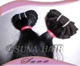 100% virgin natural shining best quality human hair extension