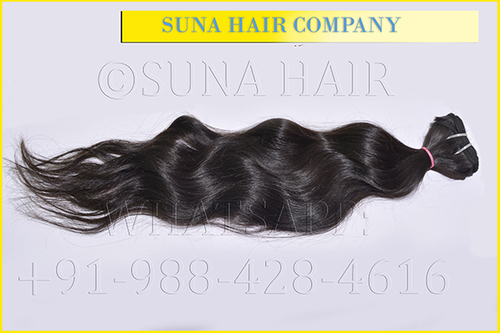 Single Drawn Loose Wavy Human Hair Extension