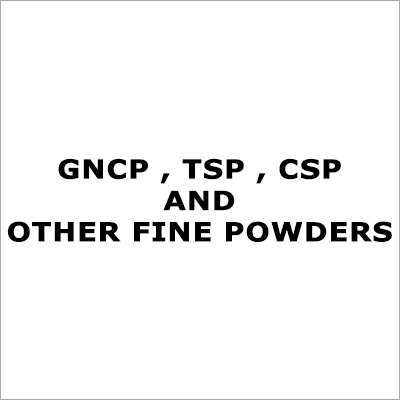 Chemical Fine Powders