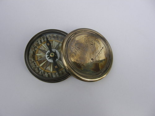Nautical Marine Brass Compass