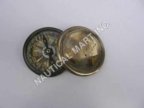 Nautical Black Antique Finish Brass