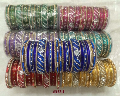 Colorful Indian Bridal Bangles