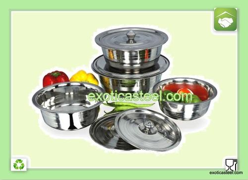 Stainless Steel Raja Bowl
