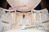 South Indian Wedding Mandap Chairs