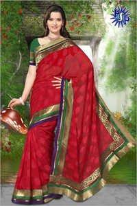 Pure chiffon saree