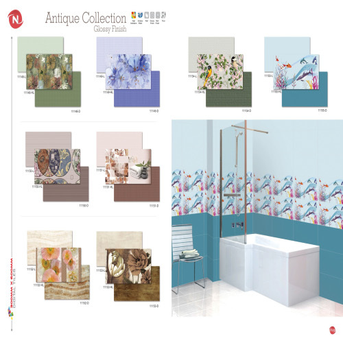 Series Digital Wall Tiles