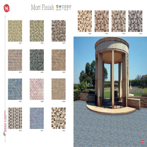 outside digital wall tiles