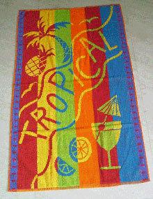 Jacquard Beach Towels
