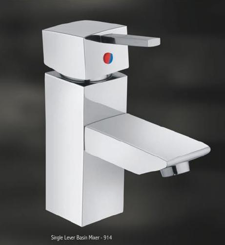 Single Lever Basin Mixer Squaro