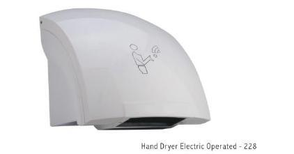 Hand Dryer Electric Operated