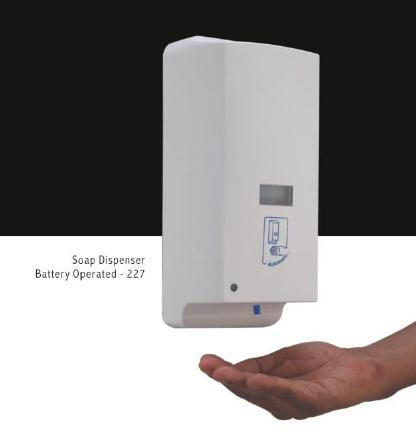 soap dispenser battery operated