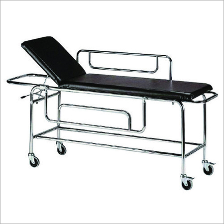 SS Patient Transfer Trolley