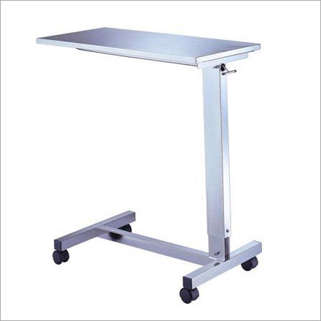 Height Adjustable Overbed Table
