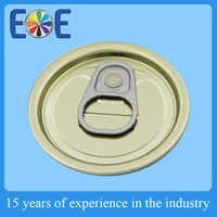 High quality 50mm easy open lid with stainless steel