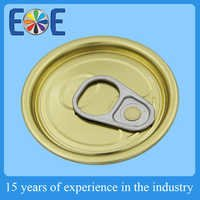 Lowest price 52mm Easy open can cap with stainless steel