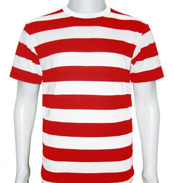 Men 100% Cotton  Stripped T shirt