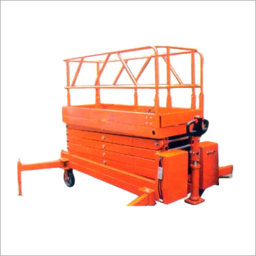 Hydraulic Scissor Lifting Machine