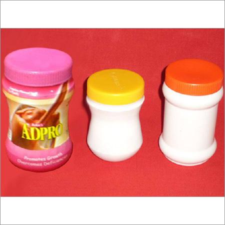 Plastic Granules Jar