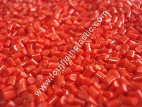 ABS Red Plastic Granules