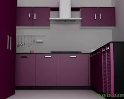 L Shaped Small Modular Kitchen
