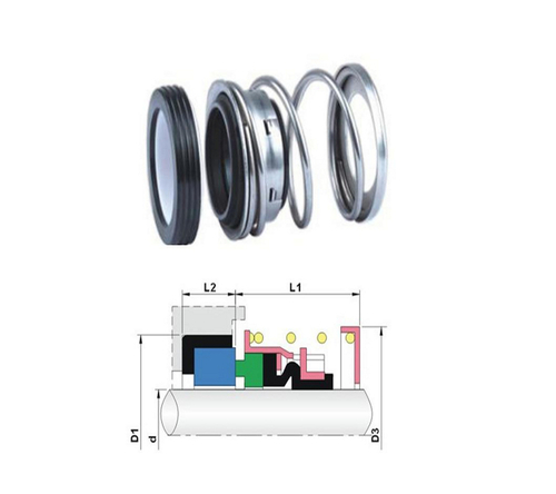 Elastomer Bellow Mechanical Seals