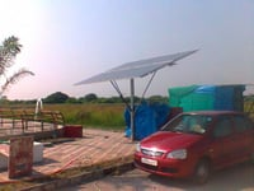 Solar water pressure pump