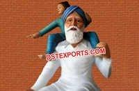 Punjabi Fiber Glass Statue