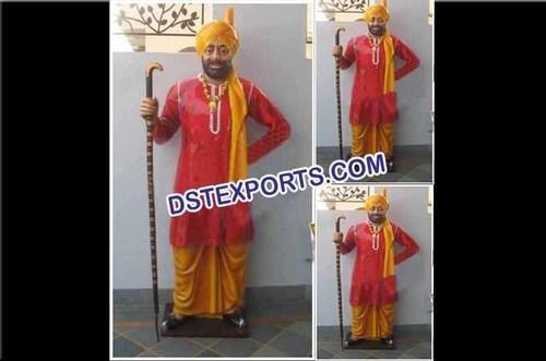 Punjabi Wedding Darban Statue