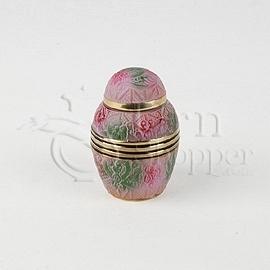 Marbella II Brass Metal Token Cremation Urn