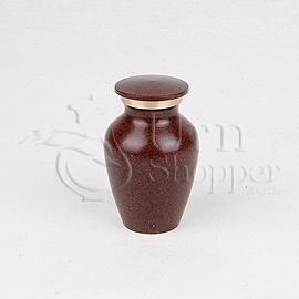Maus Earth Brass Metal Token Cremation Urn