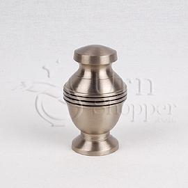 Mercury Brass Metal Token Cremation Urn