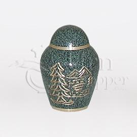 Brass Keepsake & Token Urns
