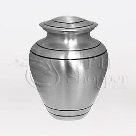 Provincial Keepsake Brass Metal Cremation Urn