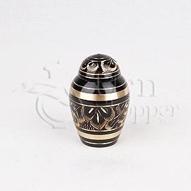 Radiance Brass Metal Token Cremation Urn